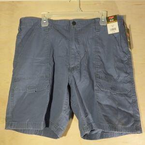 Wrangler Shorts - NWT Wranglers Cargo Shorts Mens Blue 38